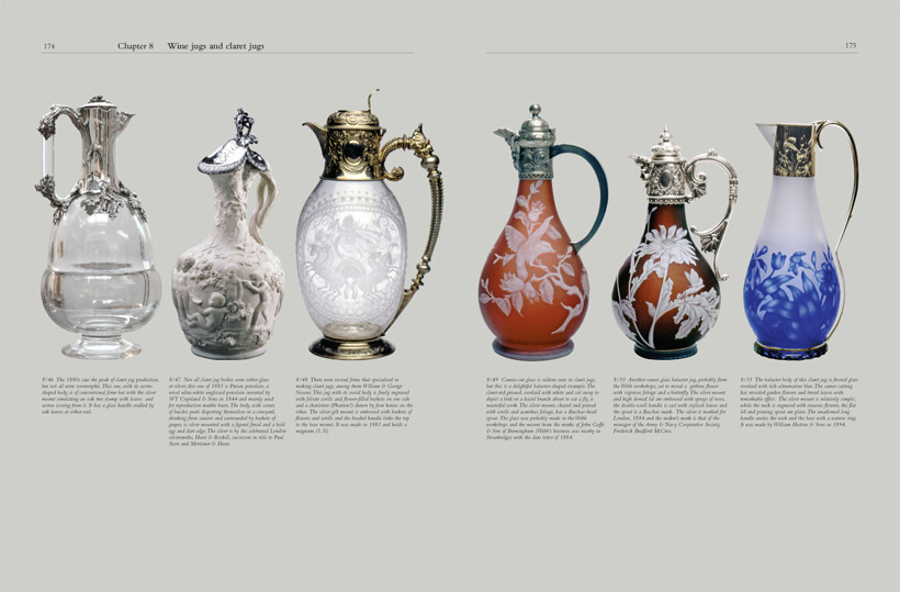 A second sample page from Chapter 8: Wine jugs and claret jugs
