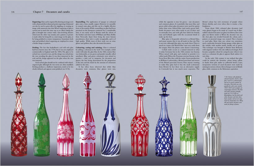 A sample page from Chapter 7: Decanters and carafes